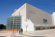 Israel, Tel Aviv The recently reconstructed building of Habimah, Israel's National Theatre (October 2010)