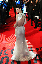 Rooney Mara arriving for the premiere of The Girl With The Dragon Tattoo,  in London, Monday 12th December 2011. Photo by: Stephen Lock / i-Images