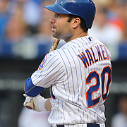 NEW YORK, NEW YORK - May 31:  Neil Walker #20 of the New York Mets batting during the Chicago White Sox Vs New York Mets regular season MLB game at Citi Field on May 31, 2016 in New York City. (Photo by Tim Clayton/Corbis via Getty Images)