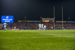 January 19, 2019 - Limerick, Ireland - General view of Thomond Park during the Heineken Champions Cup match between Munster Rugby and Exeter Chiefs at Thomond Park in Limerick, Ireland on January 19, 2019  (Credit Image: © Andrew Surma/NurPhoto via ZUMA Press)