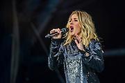 Ellie Goulding plays the Pyramid Stage - The 2016 Glastonbury Festival, Worthy Farm, Glastonbury.