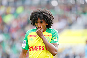 Samuel MOUTOUSSAMY (FC Nantes) during the French championship L1 football match between Rennes v Lyon, on August 11, 2017 at Roazhon Park stadium in Rennes, France - Photo Stephane Allaman / ProSportsImages / DPPI
