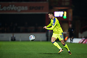 Derby County (10) Tom Lawrence  during the EFL Sky Bet Championship match between Brentford and Derby County at Griffin Park, London, England on 26 September 2017. Photo by Sebastian Frej.