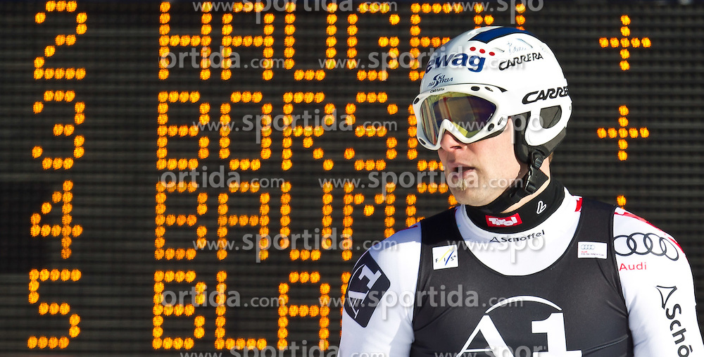 06.02.2011, Hannes-Trinkl-Strecke, Hinterstoder, AUT, FIS World Cup Ski Alpin, Men, Hinterstoder, Riesentorlauf, im Bild Romed Baumann (AUT) // Romed Baumann (AUT) during FIS World Cup Ski Alpin, Men, Giant Slalom in Hinterstoder, Austria, February 06, 2011, EXPA Pictures © 2011, PhotoCredit: EXPA/ J. Feichter