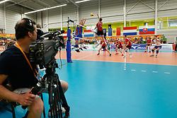 20170525 NED: 2018 FIVB Volleyball World Championship qualification, Koog aan de Zaan<br />TV Coverage, Ziggo TV, Laola1 TV<br />©2017-FotoHoogendoorn.nl / Pim Waslander