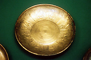 Bronze bowl from Nimrud. 8th century BC. Phoenician.