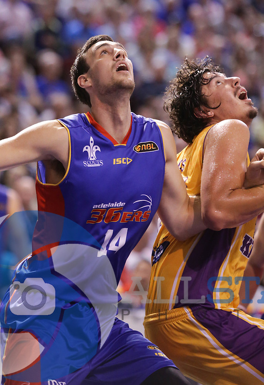 06/02/2014 NBL Adelaide 36ers vs Sydney Kings at the Adelaide Arena