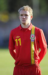 Jonathan Williams (Crystal Palace) of Wales - Photo mandatory by-line: Joe Meredith/JMP - Tel: Mobile: 07966 386802 06/02/2013 - SPORT - FOOTBALL - Stebonheath Park - Llanelli -  Wales U21s V Iceland U21s - U21s International friendly