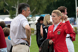 Becker Otto (GER), Meyer Janne Friederike (GER)<br /> The Longines Royal International Horse Show<br /> Hickstead 2011<br /> © Hippo Foto - Beatrice Scudo