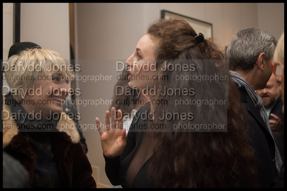 VICTORIA WILLIAMS; ELEESA DADIANI; , Nina Fowler works curated by James Birch, The launch of Dadiani Fine Art, 30 Cork St. London.  24 November 2014
