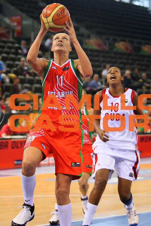 DESCRIZIONE : Madrid 2008 Fiba Olympic Qualifying Tournament For Women Cuba Belarus <br /> GIOCATORE : Yelena Leuchanka <br /> SQUADRA : Belarus Bielorussia <br /> EVENTO : 2008 Fiba Olympic Qualifying Tournament For Women <br /> GARA : Cuba Belarus Bielorussia <br /> DATA : 10/06/2008 <br /> CATEGORIA : Tiro <br /> SPORT : Pallacanestro <br /> AUTORE : Agenzia Ciamillo-Castoria/S.Silvestri <br /> Galleria : 2008 Fiba Olympic Qualifying Tournament For Women <br /> Fotonotizia : Madrid 2008 Fiba Olympic Qualifying Tournament For Women Cuba Belarus <br /> Predefinita :