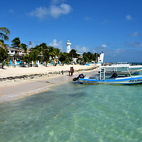 Idyllic Beaches at Puerto Morelos, Mexico<br />