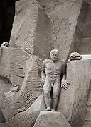 Sand Sculpture festival, Copenhagen, Denmark