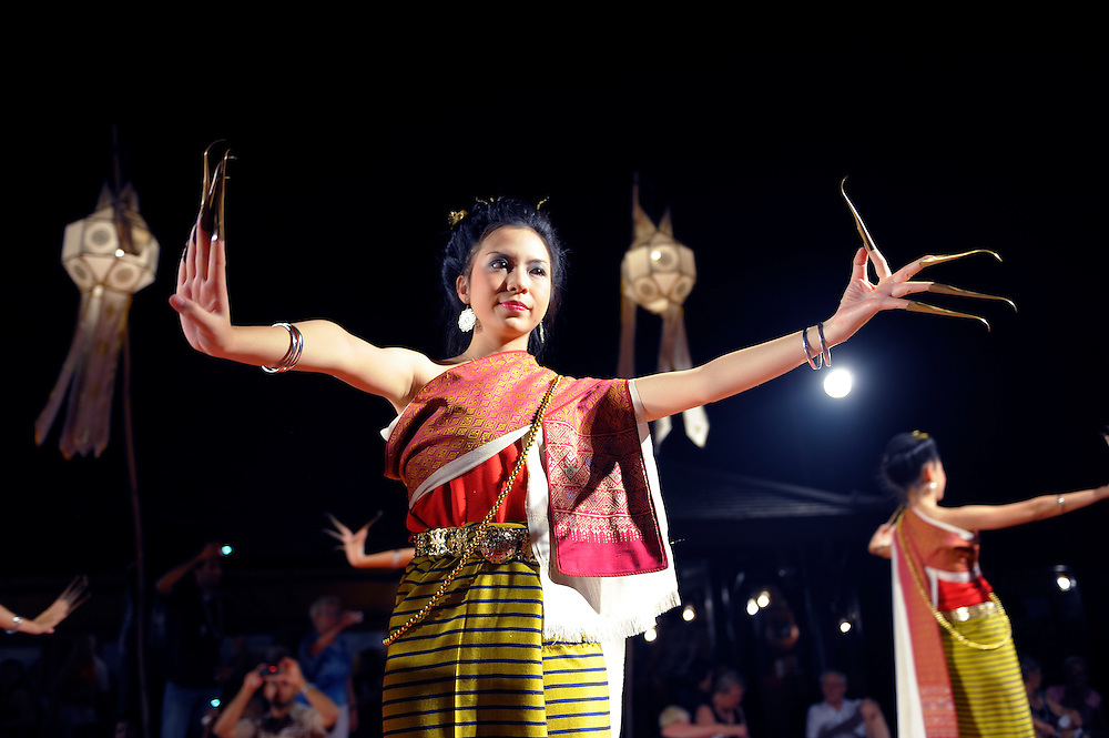 Thai Traditional dances, Dinner Shows, Old Chiang Mai Cultural Center, Chiang Mai, Thailand