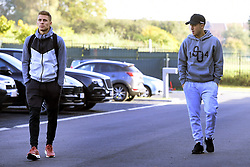 October 9, 2018 - Brussels, Belgium - Thorgan Hazard midfielder of Belgium and Eden Hazard midfielder of Belgium (Credit Image: © Panoramic via ZUMA Press)