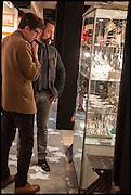 EVGENY LEBEDEV, preview of LAPADA Art and Antiques Fair. Berkeley Sq. London. 23 September 2014.