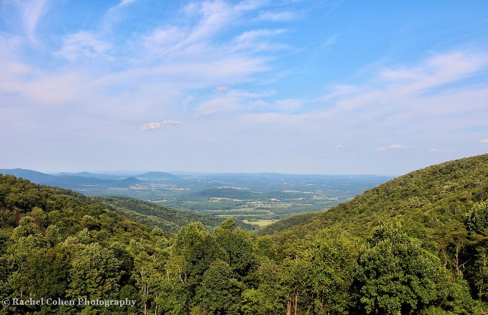 &quot;Shenandoah Valley&quot;<br /> <br /> The Blue Ridge Mountains by Rachel Cohen