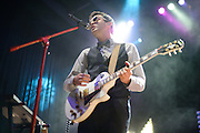 Mayer Hawthorne and The County performing in support of Chromeo at the Pageant on October 24, 2011.