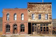 The Dechambeau Hotel and Odd Fellows Lodge on Main Street, Bodie State Historic Park (National Historic Landmark), California