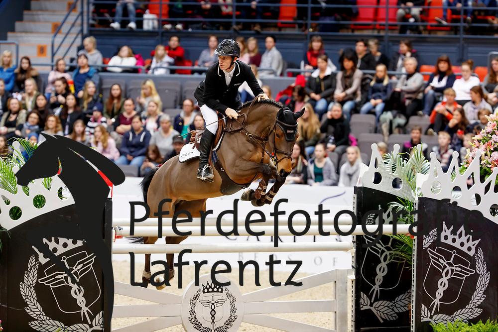 Zetterman, Alexander (SWE) Lucky Lisa<br /> Göteborg - Gothenburg Horse Show FEI World Cups 2017<br /> © Stefan Lafrentz