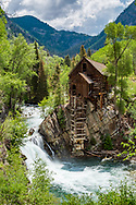 Crystal Mill near Marble, Colorado.