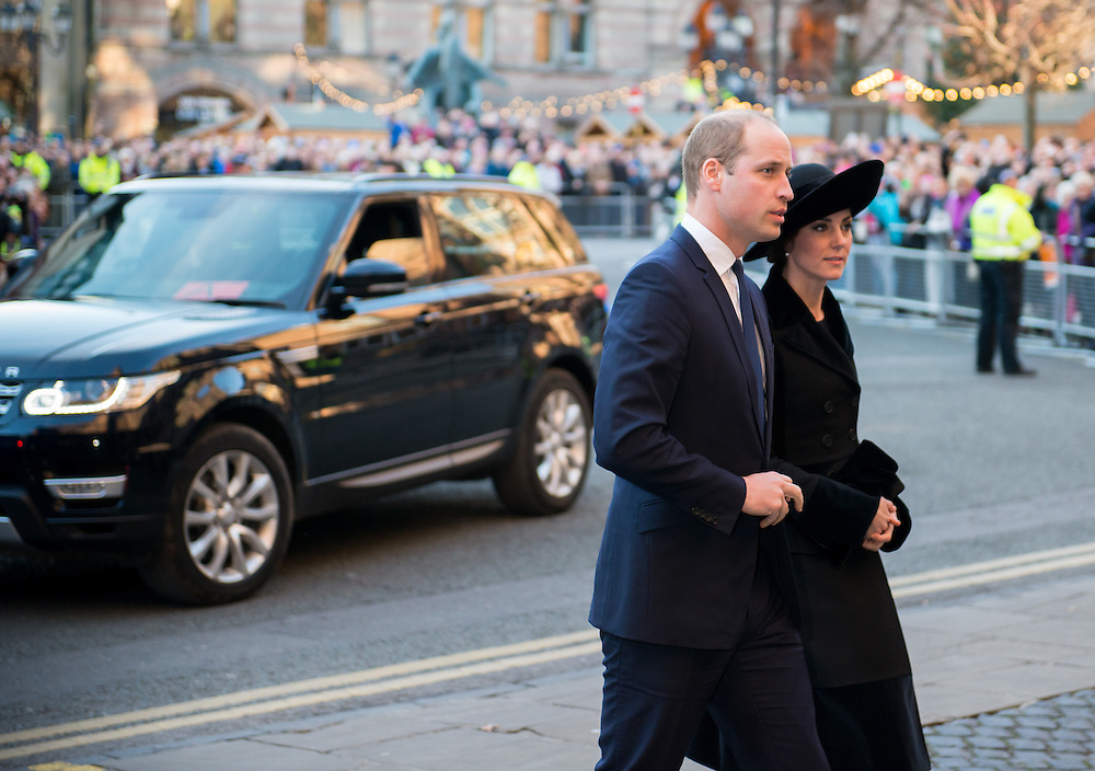 The Duke and Duchess of Cambridge in Chester, Cheshire