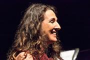 "Dulce Pontes performing for the ""Veranos de la villa""  at the Price Circus, Madrid."
