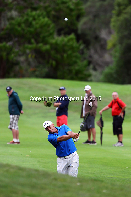 Peter Fowler during the Holden NZPGA Championship at Remuera Golf Course in Auckland, New Zealand. Friday 6 March 2015. Copyright photo: William Booth / www.Photosport.co.nz