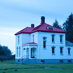 Assistant Lightkeeper's Residence on North Head at Cape Disappointment State Park, Ilwaco, Washington, US