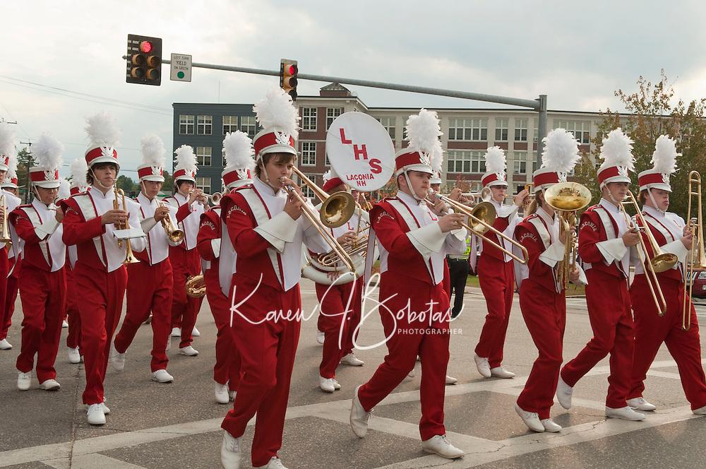 Laconia High School Homecoming parade September 30, 2011.