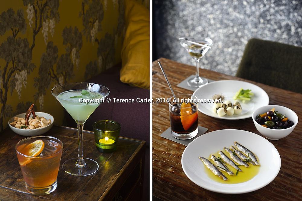 Namsah Bottling Trust (left), Eat Me Bar (right), Bangkok. Copyright 2014 Terence Carter / Grantourismo. All Rights Reserved.