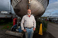 112112/9 Sea People Project - Tony Boughton, Manager of Iron Wharf, Faversham, Kent