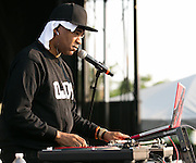 DJ Marley Marl performs at Rochester Summer Fest at Sahlen's Stadium in Rochester on Saturday, July 11, 2015.