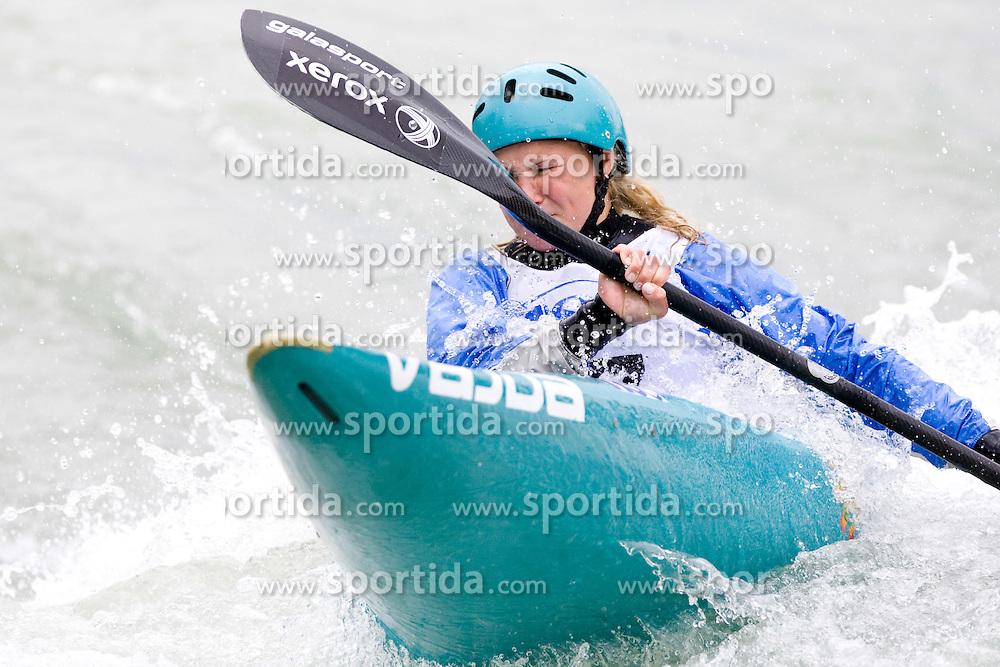 Nina Slapsak of KKK Ljubljana competes in the Women's Kayak K-1 at kayak & canoe slalom race on May 9, 2010 in Tacen, Ljubljana, Slovenia. (Photo by Vid Ponikvar / Sportida)