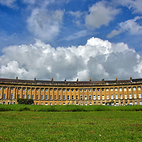 Royal Crescent in Bath, England<br />