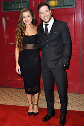 © Licensed to London News Pictures. 08/03/2016. AMBER HERNAMAN and MATT CARDLE attends the Motown The Musical press night. Motown hits featured in the production include Dancing In The Street, I Heard It Through The Grapevine and My Girl. London, UK. Photo credit: Ray Tang/LNP