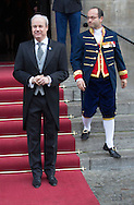 Amsterdam 17-01-2016<br /> <br /> King Willem-Alexander and Queen Maxima give New Years reception for diplomats.<br /> <br /> <br /> <br /> <br /> COPYRIGHT ROYALPORTRAITS EUROPE/ BERNARD RUEBSAMEN