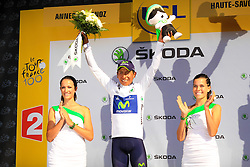 Annecy-Semnoz, France - Tour de France :: Stage 20 - 20-07-2013 - Podium: QUINTANA with the white jersey