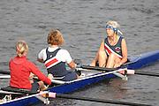 Boston, USA, Vet, Women's Cox. Head of the Charles, Race Charles River,  Cambridge,  Massachusetts. Saturday  20/10/2007  [Mandatory Credit Peter Spurrier/Intersport Images]..... , Rowing Course; Charles River. Boston. USA