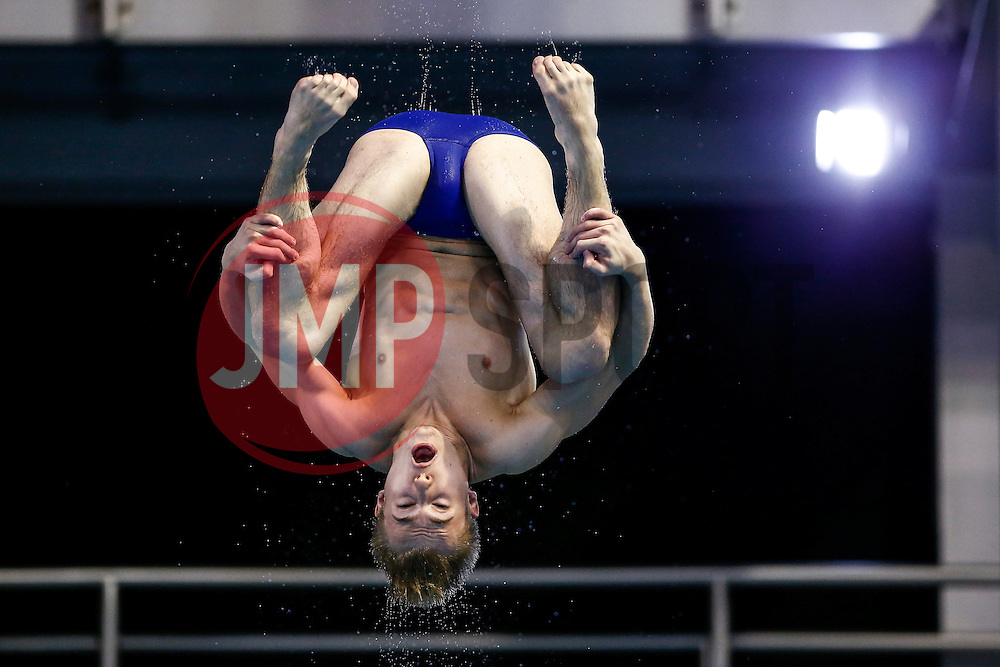 Jack Laugher of Great Britain practices from the 3m Springboard - Photo mandatory by-line: Rogan Thomson/JMP - 07966 386802 - 20/08/2014 - SPORT - DIVING - Berlin, Germany - SSE im Europa-Sportpark - 32nd LEN European Swimming Championships 2014 - Day 8.