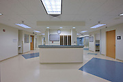 Interior Design Photographer of Maryland Jeffrey Sauers image of Carroll Hospital nurses station