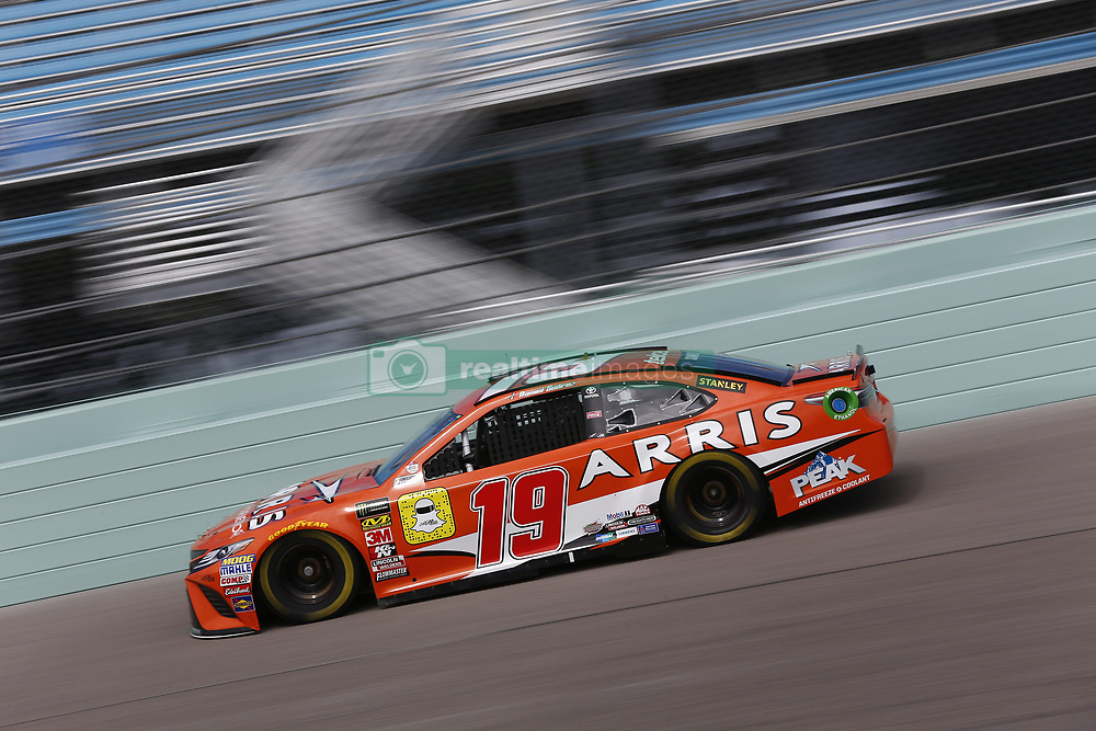 November 17, 2018 - Homestead, Florida, U.S. - Daniel Suarez (19) takes to the track to practice for the Ford 400 at Homestead-Miami Speedway in Homestead, Florida. (Credit Image: © Justin R. Noe Asp Inc/ASP)