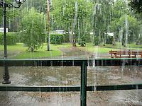 Heavy rain..............