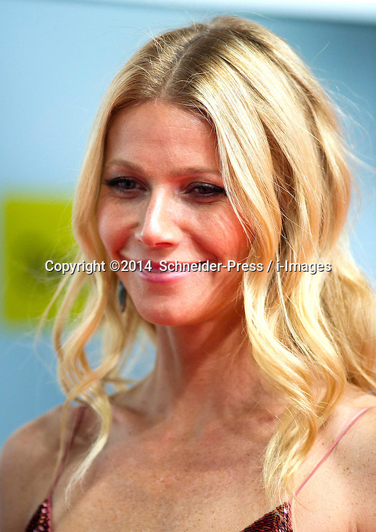Gwyneth Paltrow attends the Goldene Kamera 2014 at Tempelhof Airport Hangar 7, Berlin, Germany, Saturday, 1st February 2014. Picture by  Schneider-Press / i-Images<br /> UK & USA ONLY