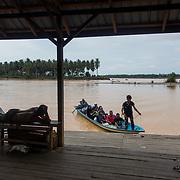 Flowing Along The Delta of Kelantan River