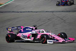 February 28, 2019 - Barcelona, Catalonia, Spain - the Racing Point of Lance Stroll during the Formula 1 test in Barcelona, on 28th February 2019, in Barcelona, Spain. (Credit Image: © Joan Valls/NurPhoto via ZUMA Press)