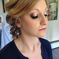 sussex bridesmaid makeup