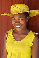 Madagascar. Fianarantsoa. Jeune femme Malgache. // Madagascar. Fianarantsoa. young woman.