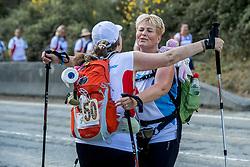 15-06-2017 NED: We hike to change diabetes day 6, Herrerias de Valcarce<br /> De zesde dag van Villafranca del Bierzo naar Herrerias de Valcarce. Een tocht van 26 km door heuvelachtig landschap en prachtige wijngaarden. Miriam