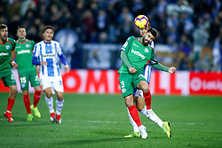 November 23, 2018 - Leganes, MADRID, SPAIN - Duarte of Alaves during the Spanish Championship La Liga football match between CD Leganes and Deportivo Alaves on November 23th, 2018 at Estadio de Butarque in Leganes, Madrid, Spain. (Credit Image: © AFP7 via ZUMA Wire)